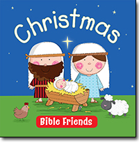 Christmas Bible Friends - read to me