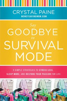 say goodbye to survival mode from working mom's perspective