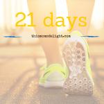 21 Days in December - fit living - thismomsdelight.com