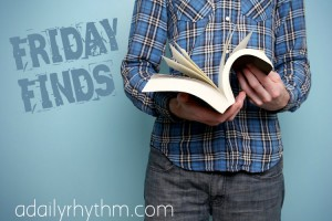 Friday Book Finds hosted by ADailyRhythm.com - This Mom's Delight