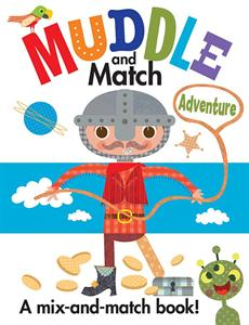 Muddle & Match Adventure - a kid book reviewed by the little guy and his mommy via thismomsdelight.com