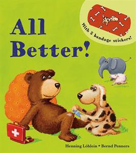 All Better - a kid book reviewed by the little guy and his mommy via thismomsdelight.com