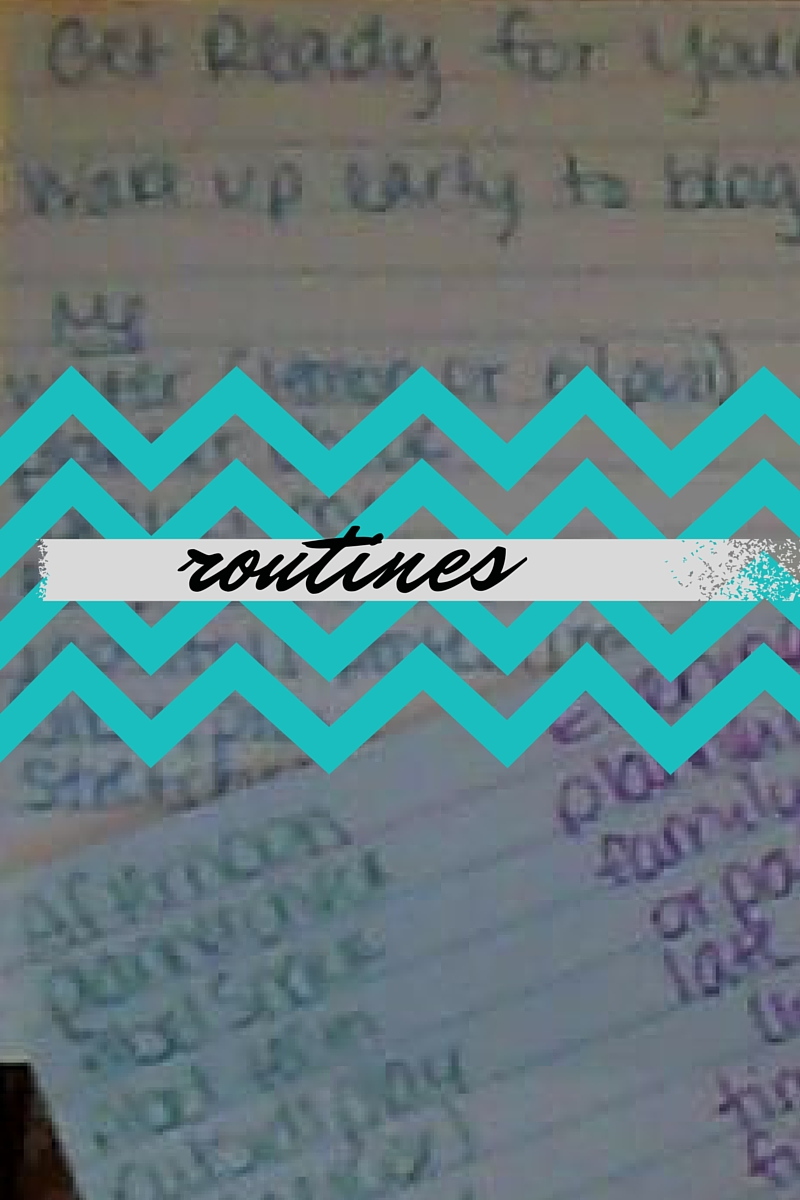 Adding routines to my Anchored Press Daily Planner