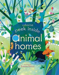 Peek Inside Animal Homes - reviewed by momma and the little guy @ www.ThisMomsDelight.com