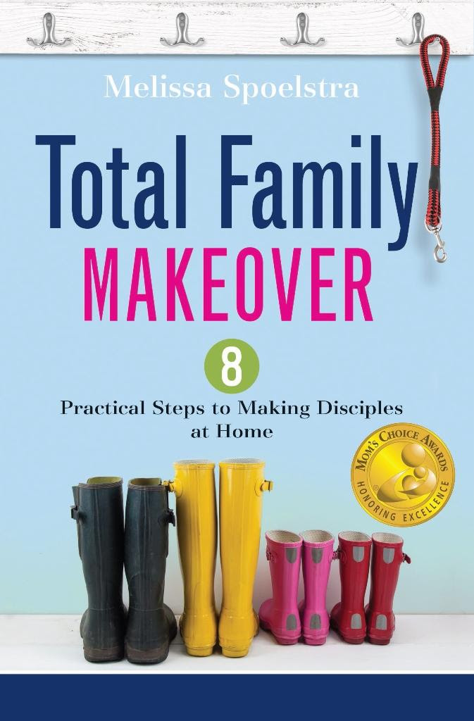 Melissa Spoelstra's 'Total Family Makeover' Family Fun Night Giveaway