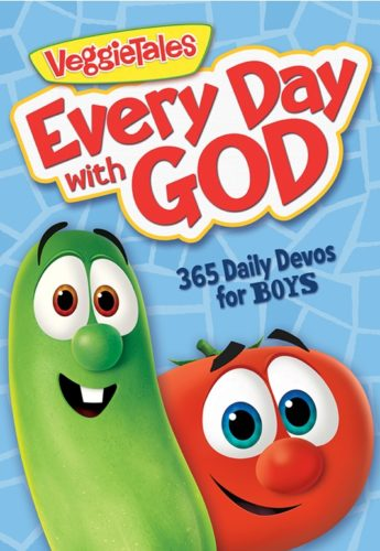 Veggie Tales #EveryDayWithGod - 365 Daily Devos for Boys & Girls #FlyBy