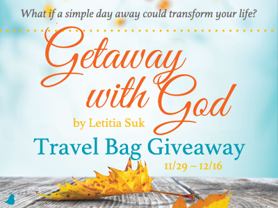 Letitia Suk's 'Getaway with God' Travel Bag Giveaway