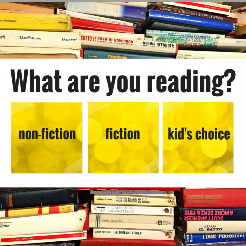 What are you reading right now? Is it non-fiction? Is it fiction? Is it whatever the kids want to be read at bedtime? Share the title(s) below.P.S. If you need something new, Paperback Swap has delight reading choices at used prices.