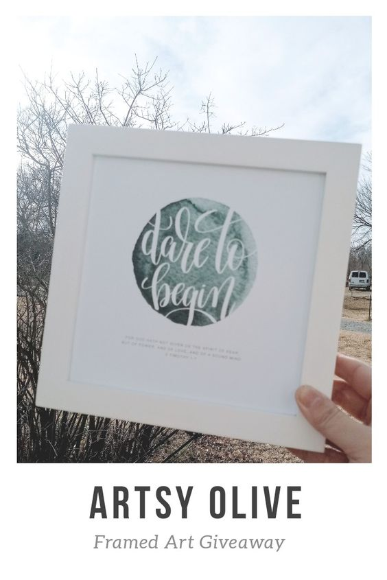 Enter for a chance to win 1 of 5 copies of Artsy Olive Framed Art Prints. https://thismomsdelight.com/artsy-olive/ #Giveaway #Christmasshopping #Discountcode