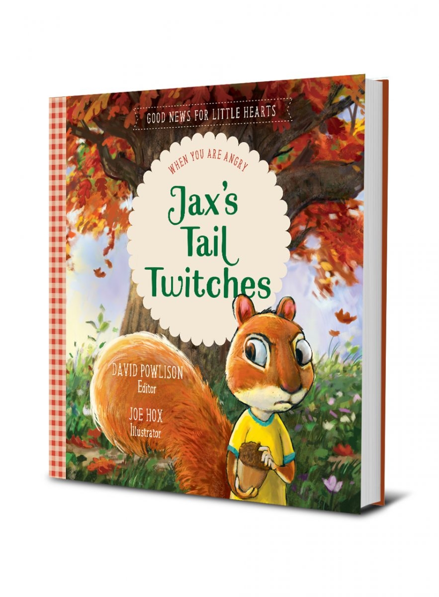 Jax's Tail Twitches by David Powlison #childrensbook