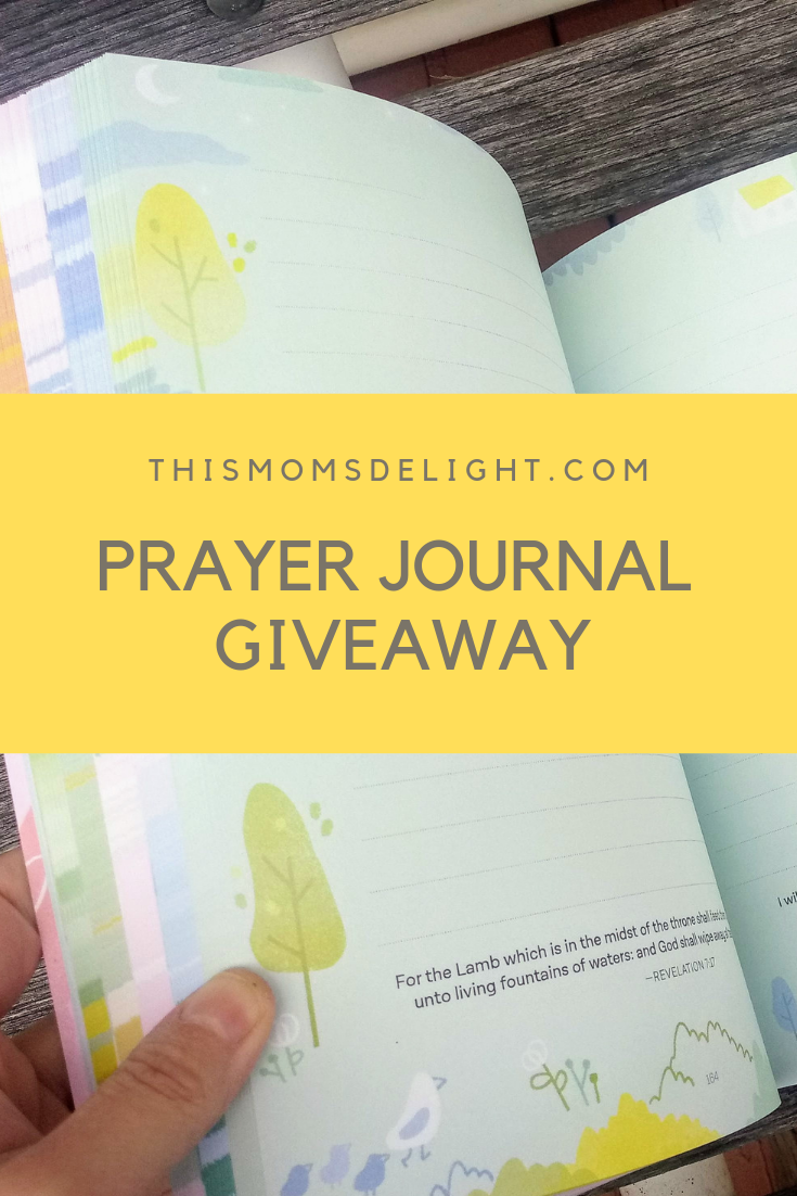 It's a giveaway! >> Prayer Journal for Women: Illustrations and Verses to Inspire Faith and Deepen Your Prayer Life