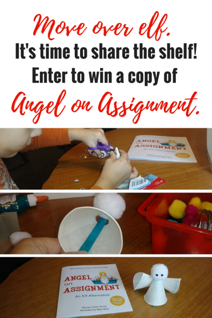 Move over elf. It's time to share the shelf! Enter to win a copy of Angel on Assignment. #book #giveaway [ends 11/30]